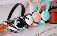 2016 candy girls foldable stereo Headphone for Iphone Samsung MI cute music kids mobile phone headset MP3 player headband IX20