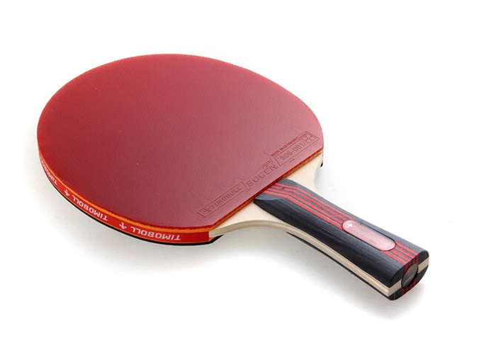 TIMO BOLL TABLE TENNIS RACKET 3 star PingPong Rubber tabl tennis racket to table tennis(China (Mainland))