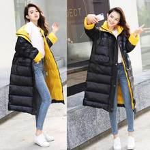Fitaylor Женское зимнее длинное пальто новое ультралегкое белое пуховое пальто Женская тонкая пуховая куртка ветрозащитное пуховое пальто(China)