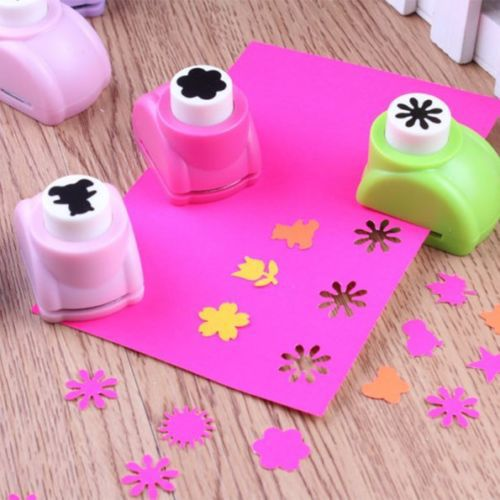 1 PC Kid Child Mini Printing Paper Hand Shaper Scrapbook Tags Cards Craft DIY Punch Cutter Tool 8 Styles(China (Mainland))