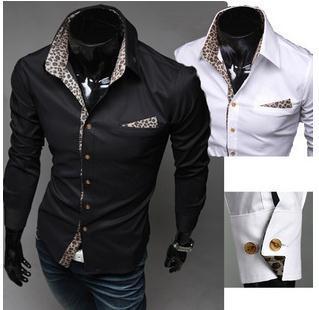 Online Buy Wholesale mens cotton stylish black shirt from China ...