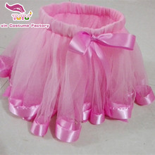 Handmade 2 layers birthday tutu child ,ribbon skirt 1T- 8Y girls pink,purple, red, green,orange - Yu Xin Costume Factory store