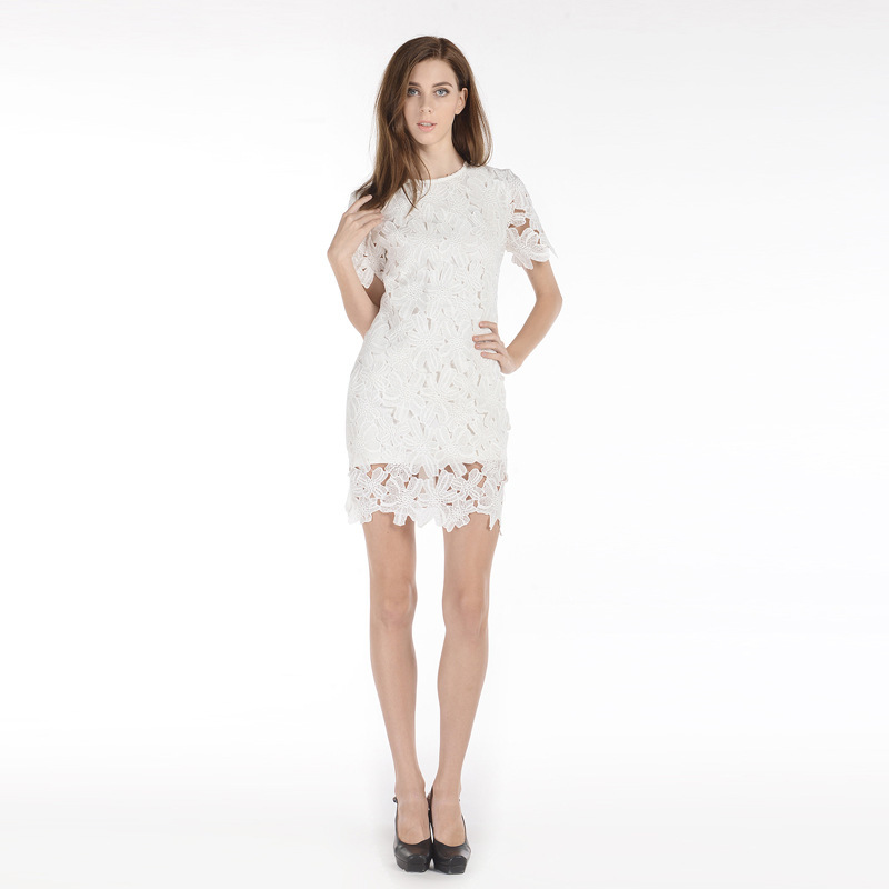 Alisa Pan Women's Fashion Sleeveless Sheer Lace Cocktail Party Summer Dress on Clearance Sale White. Sold by Ever Pretty. $ $ DEAL ENDS SOON Alisa Pan Women's Simple Sheer Embroidered Lace-up Cross Back Fit and Flare Party Cocktail Summer Dress White.