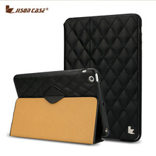 Jisoncase For iPad Mini 2 3 Case Luxury Leather Cover Stand Auto Wake Up and Sleep For iPad Covers & Cases(China (Mainland))
