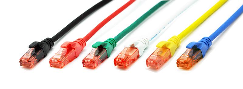 (6pcs/lot) Gigabit CAT6 UTP Patch Cable 5m (6 Colors) - RJ45 CAT6 Network Patch Cord LSOH(China (Mainland))
