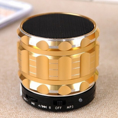 Small speaker audio blue metal products active audio subwoofer bluetooth(China (Mainland))