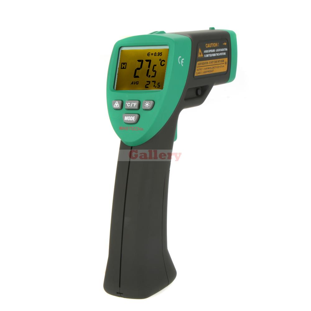 Фотография Mastech Ms6530 12 1 Non Contact Infrared Ir Thermometer Laser Temperature Gun Meter Sensor Range 20 537 Degree