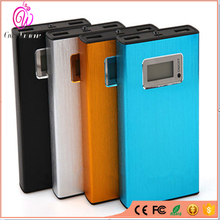 13000mAh Real Capacity Metal Power Bank Portable Cargador Universal Quick Charging Station Dual USB for xiaomi iphone lenovo