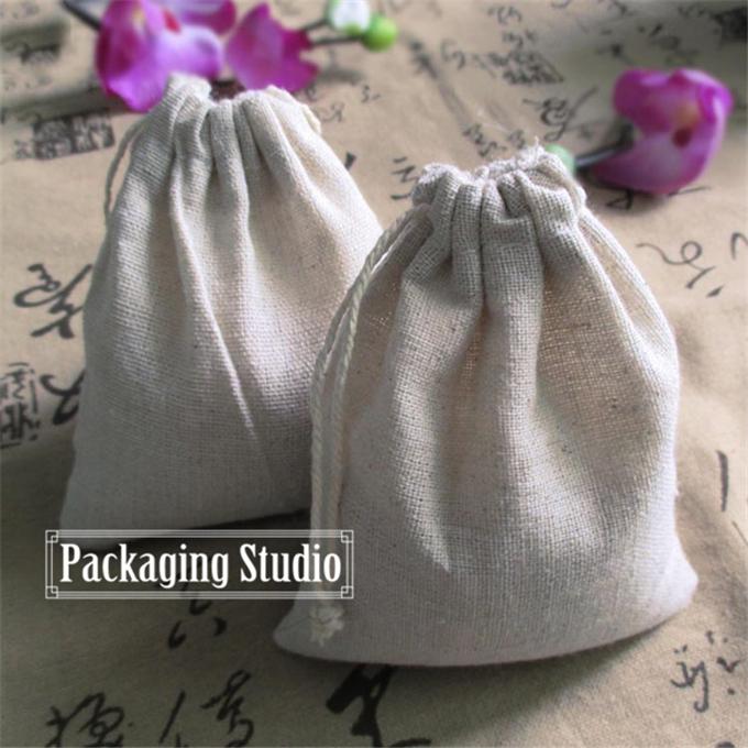11*13cm Retail Drawstring Packaging Linen Bag Grocery Gift Pouch Sachet storage Wedding Decor Jute Bag(China (Mainland))
