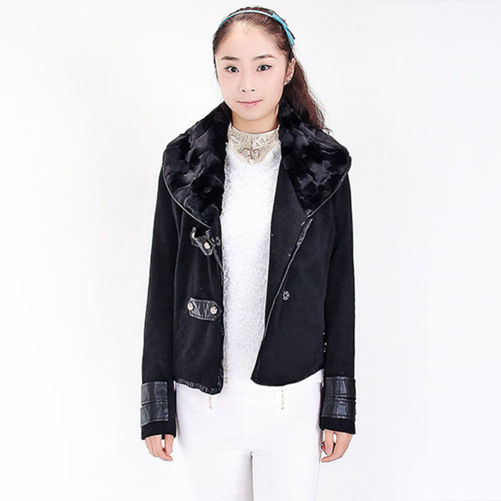 Women's Woolen Slim Jacket hot sales high quality Autumn Winter New Fashion Best Selling(China (Mainland))