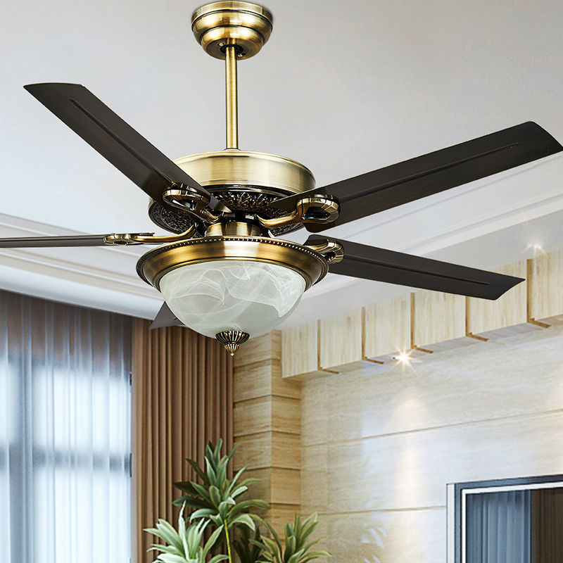 fashion vintage ceiling fan lights funky style fan lamps