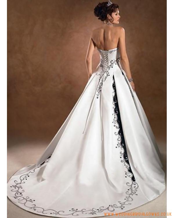 Wedding Dresses Black And White - Ocodea.com