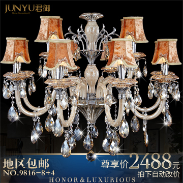 Fashion pendant light crystal lamp crystal pendant light living room lamps bedroom lamp lighting 9816 - 8 4