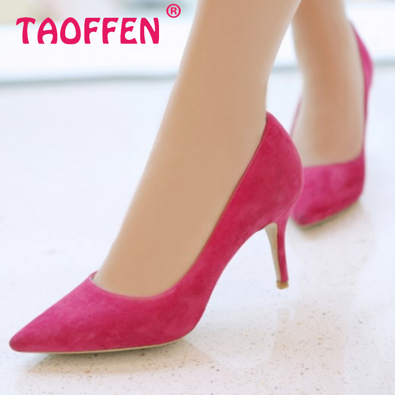 CooLcept free shipping genuine leather quality high heel shoes women fashion lady sexy dress pumps R3825 hot sale EUR size 34-39<br><br>Aliexpress