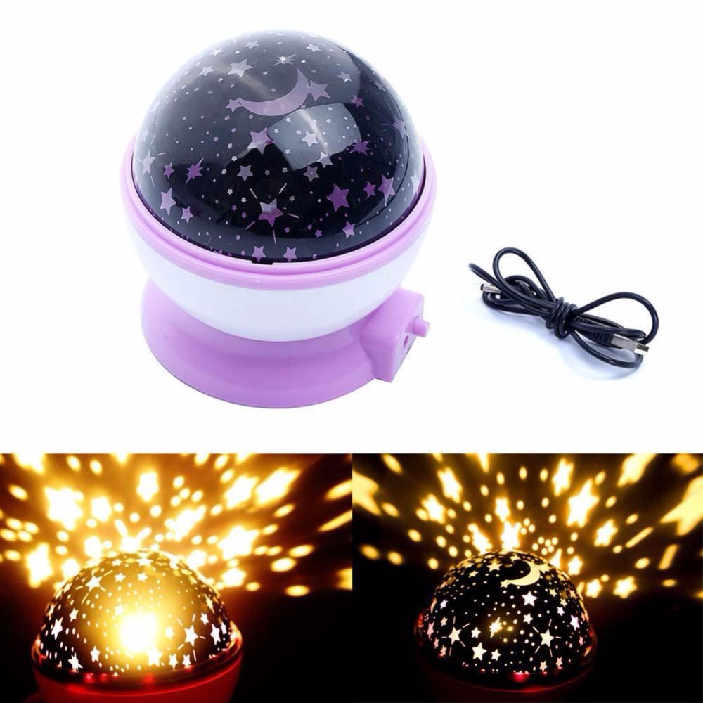 Hot!!Newest Romantic Star Sky Projector Night Light Rotatable Cosmos Starry Lamp USB AAA Battery Operated Room Decoration Lights(China (Mainland))