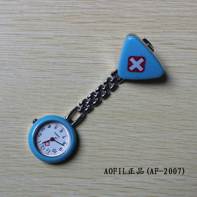 Triangle nurse table nurse pocket watch pocket watch table battery
