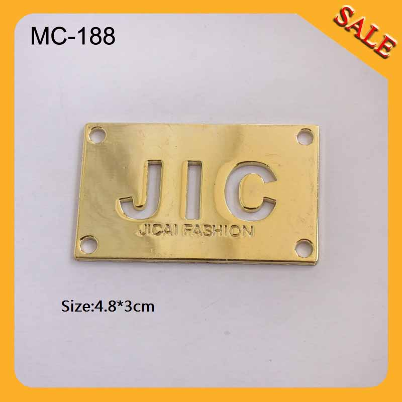 MC188 China alibaba wholesale clothing solid brass metal name tags<br><br>Aliexpress