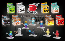 8pcs/1lot minecraft  Minifigures action figure toys Bricks Compatible free shipping 638(China (Mainland))