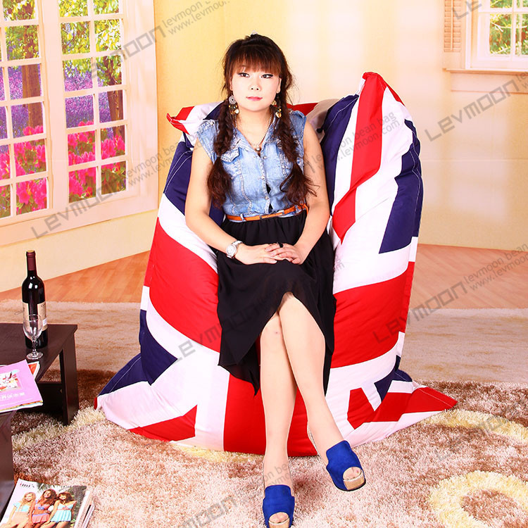 FREE SHIPPING flag bean bag chair pattern  bean bag cover water proof   POLYESTER beanbag 135*170cmbean bag chairs for adults<br><br>Aliexpress