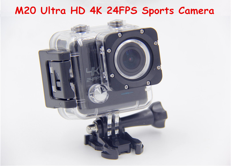 M20 Ultra HD 4K 24FPS 2.0 inch LCD WIFI 16MP Sports Action Camera 30M Waterproof Camera IMX 117 Sensor Full HD 1080P DV
