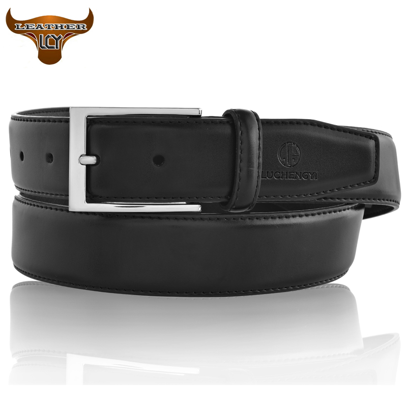 [LCY] New Designer Belts Men High Quality 100% Real Leather Belts for Men Pin Buckle cinto masculino Mens Belts Luxury 350464(China (Mainland))