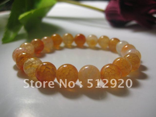 Agate bracelet with texture for Female