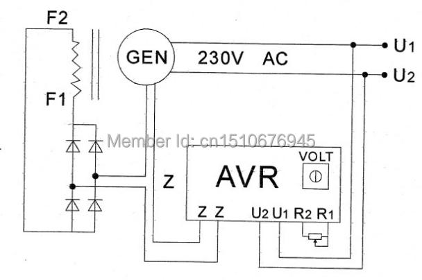 3 phase hydro generator wiring diagram