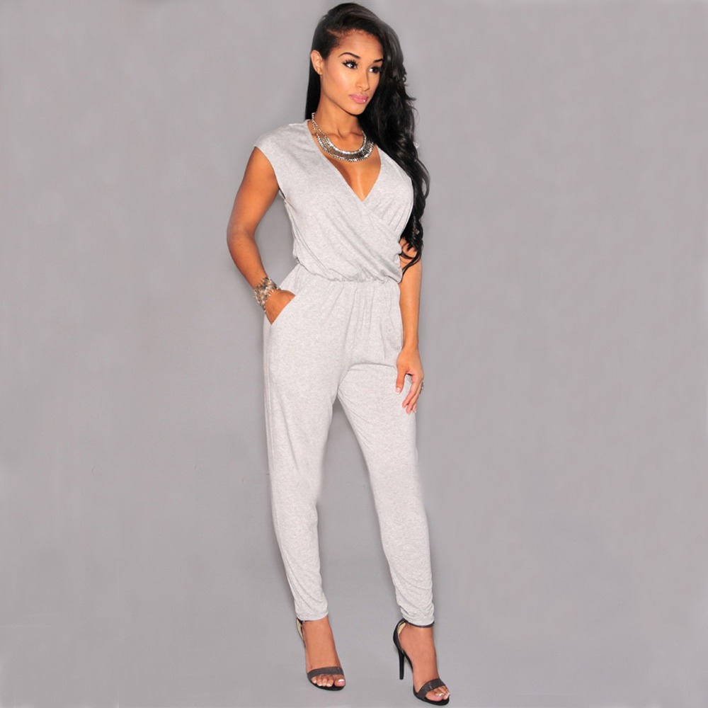 Images of All White Jumpsuits - Reikian