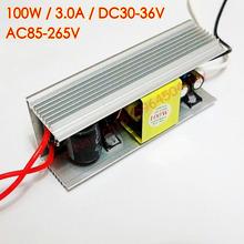 100 w dc 30 v-36 v 3000ma led driver per 100 w led  Chip fai da te ac 85 v-265 v 110 v 220 v corrente costante led driver di chip(China (Mainland))