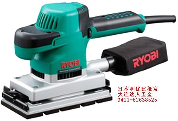 Japan RYOBI Ryobi genuine original flat sanding machine S-1000E sandpaper machine break -ray machine(China (Mainland))