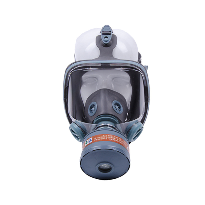 Full face respirator gas mask High quality Medical silica gel industrial safety chemical gas mask boxe respirator mask(China (Mainland))