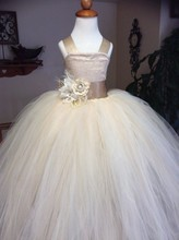Vintage Formal Communion Dress Square Collar Lace Up Appliques Sleeveless Tulle Ball Gowns Ruffle Pageant Flower Girl Dress 1-14