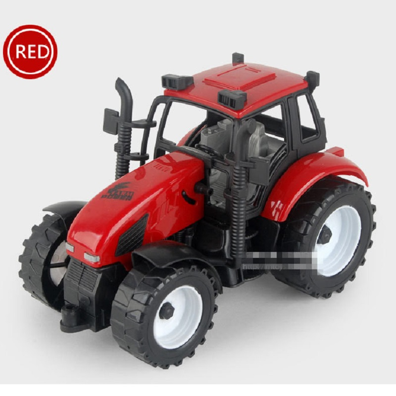 New Arrival Inertial Toy Farm Tractor Alloy Vehicles Models Truck Toys Children's Toy Metal Model Farm Truck(China (Mainland))