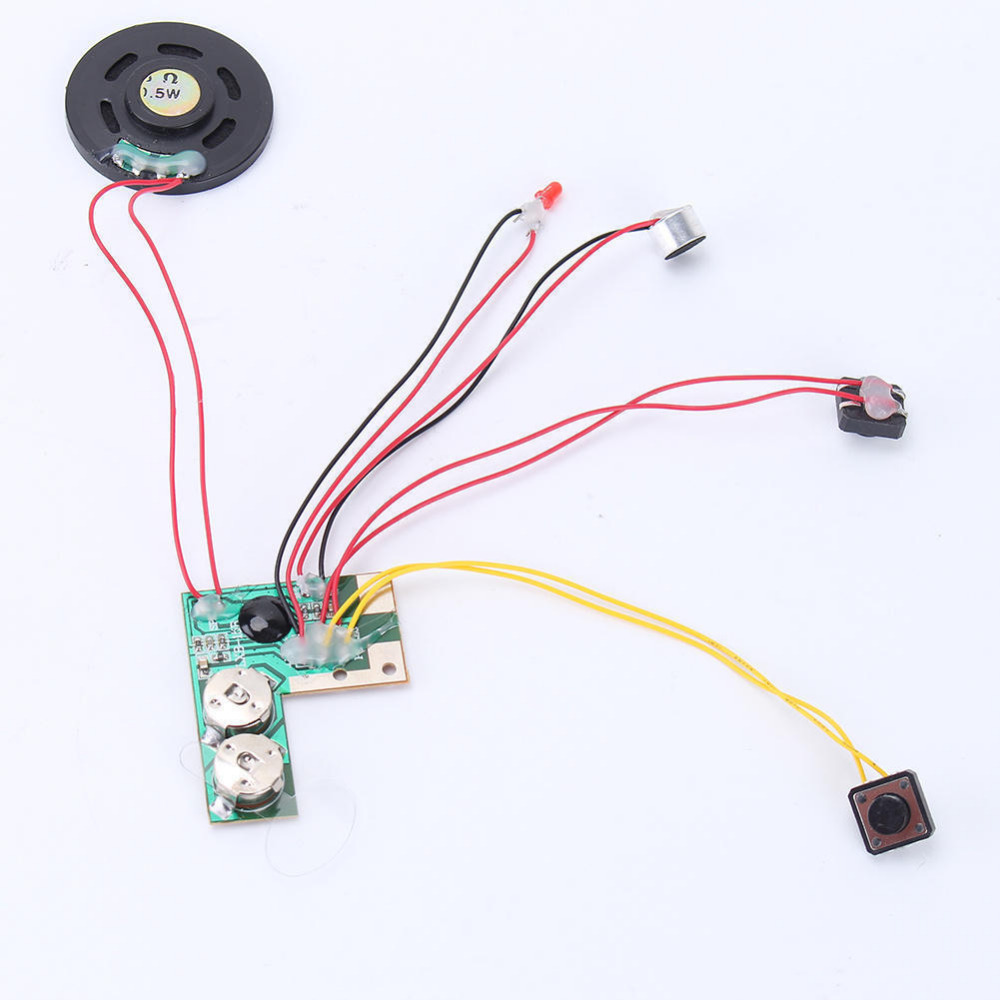 10 Secs 10s High Quality Talking Button Sound Voice Music Recordable Module for Greeting Card New(China (Mainland))