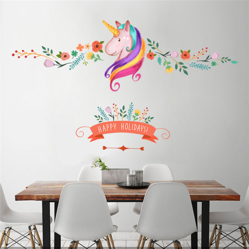 Carrelage cheval murale promotion achetez des carrelage for Decoration murale licorne