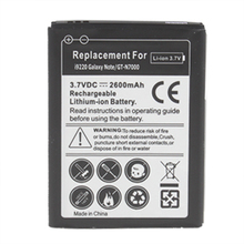 New Arrivals 2500mAh Mobile Phone Battery for Samsung i9220 Galaxy Note GT-N7000 Hi Power Li-Polymer Drop Shipping