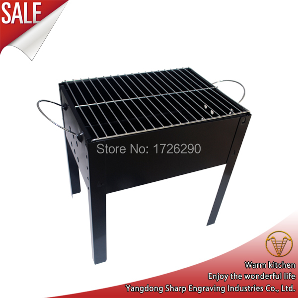 Promotional easily assembled outdoor camping charcoal bbq grill(China (Mainland))