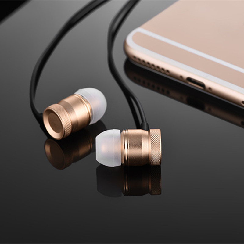AAA+ Earbuds Earphone For Oppo R1k Phone, HD Bass Earphones For Oppo R1k Headset Earbud Free Shipping(China (Mainland))