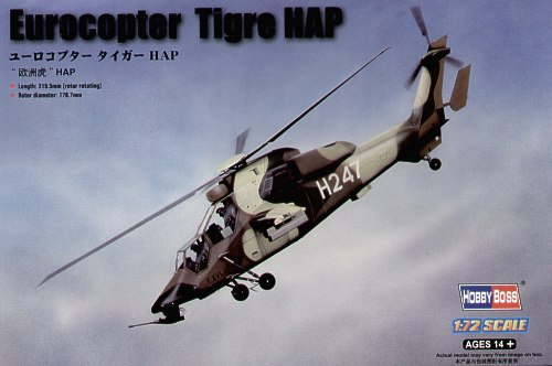 high quality hobby toy 1/72 fighter model French European Tiger helicopter assembling aircraft model kit best gift(China (Mainland))