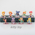 Free shipping Anime Furnishing articles Movic Love Live Kousaka Honoka Kotori action figure Garage Kits 9pcs