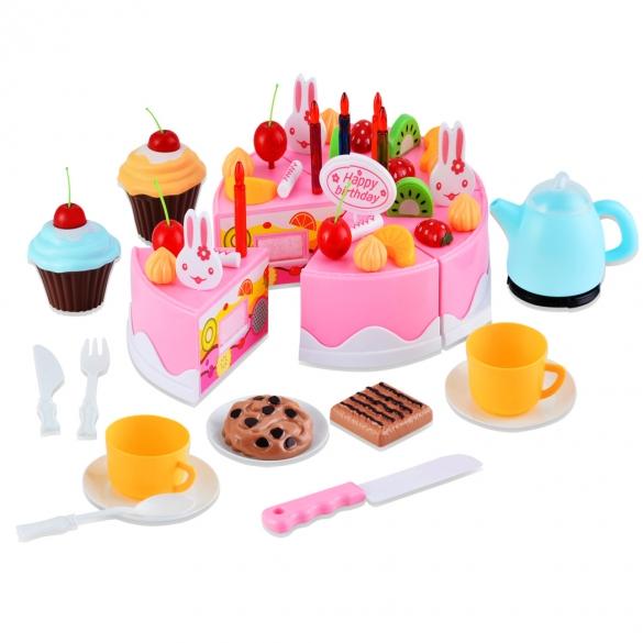 Hape Keuken Accessoires : Enfants jouets fille gâteau d anniversaire jeu jouets 54