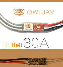 Buy OWLUAV 2-6S BL Micro 30A Brushless ESC BLHeli BEC Electronic Speed Controller Integrated MOS Quadcopter Multicopter RC Drone for $9.54 in AliExpress store