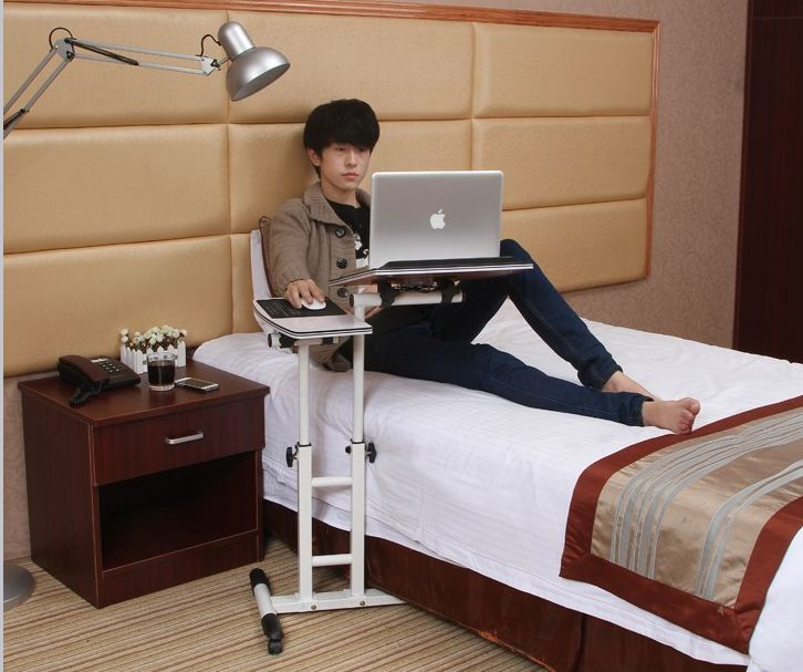 Laptop desk portable laptop mount bedside tables lift computer desk(China (Mainland))