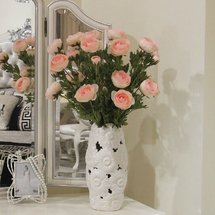 2015 Sale Top Fashion Artificial Flowers For Decoration Lu Lin, Decorative Flowers High Simulation Table Flower Decoration Roses(China (Mainland))