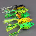 HOT 5pcs Fishing frog Lure for fishing tackle 11g 6cm Topwater pesca fishing artificial Lure frog