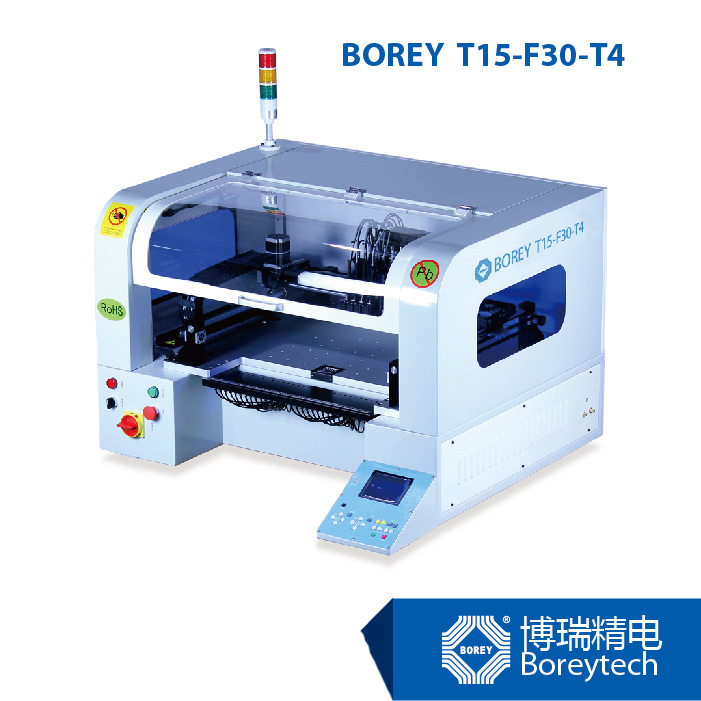 BOREY T15-F30-T4 Benchtop Vision Munltifunction SMT PCB Separator Machine/Pick and Place(China (Mainland))