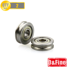 2 Pcs/Lot 3D printer accessories 604UU Bearing Parts for MakerBot RepRap UP Mendel I3 Printer