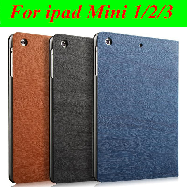 Hot sale Ultra-thin Smart case For iPad mini case Leather Stand Cover capa For Apple iPad mini 1 2 3 case Wake Up/Sleep Function