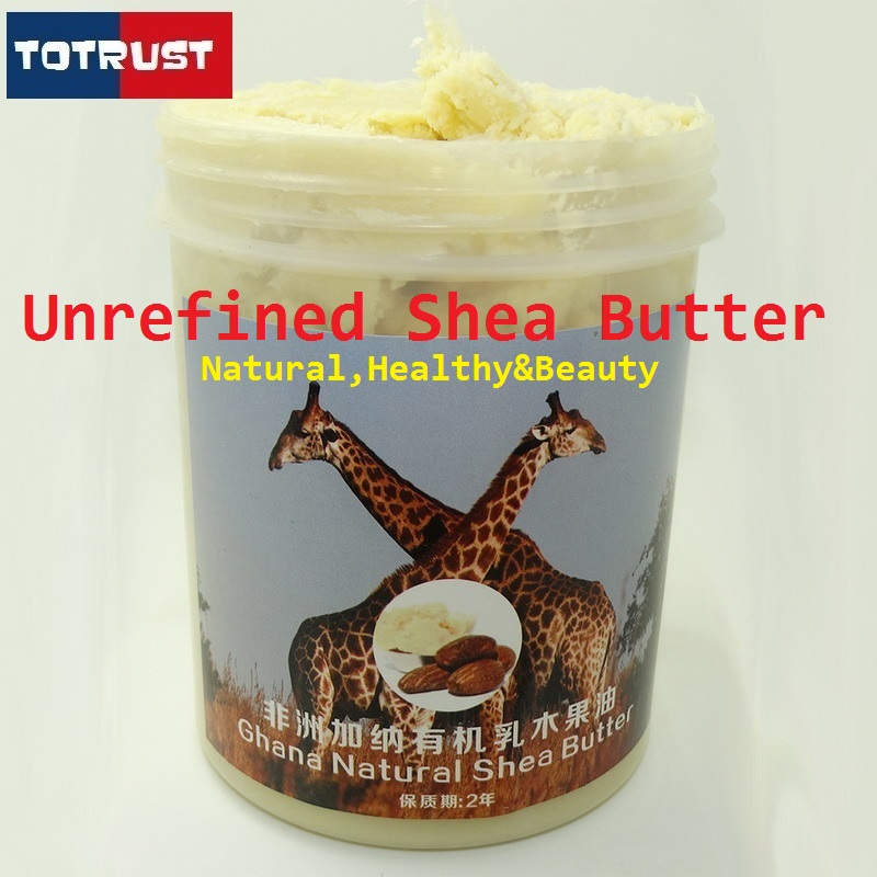 African Natural Unrefined Shea Butter Moisturizing Wrinkle Pure Essential Oil Skin And Hair Nourishing Skin Care(China (Mainland))