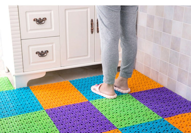 2018 Multifunctional Color Bathroom Shower Mats Anti Slip